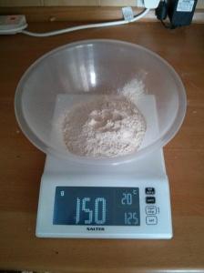 150g Rye Flour