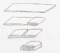 Dough book fold